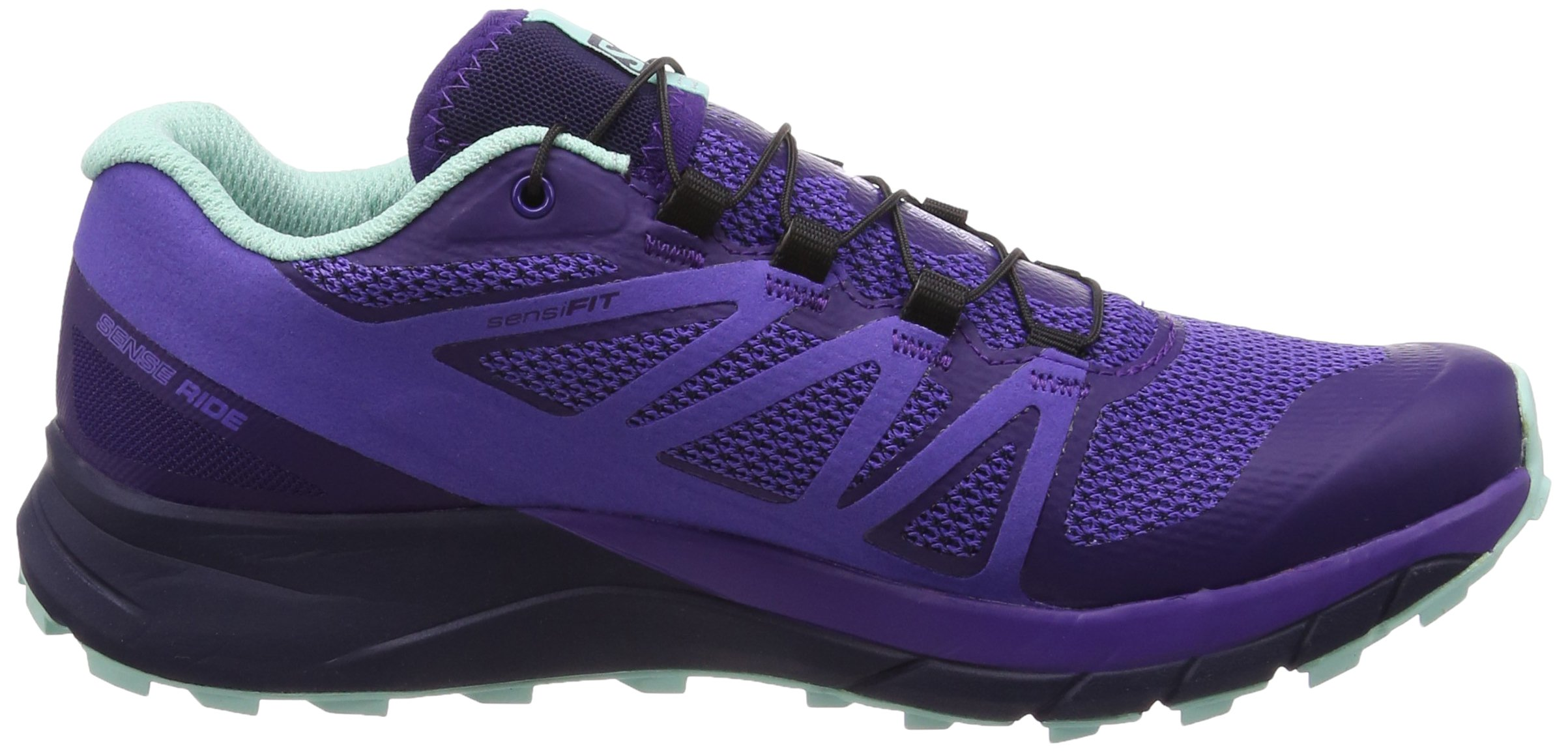 Salomon Women's Sense Ride Running Shoes, Purple, 6.5 M by Salomon (Image #6)