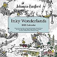Johanna Basford 2021 Coloring Wall Calendar