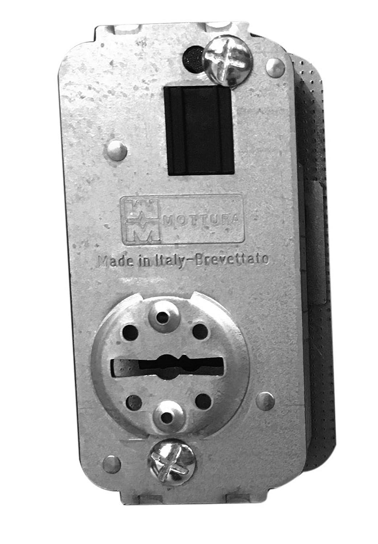 Núcleo Compact para cerradura Mottura de hierro 3 CH.50 x 52 N471 - DX y SX: Amazon.es: Bricolaje y herramientas