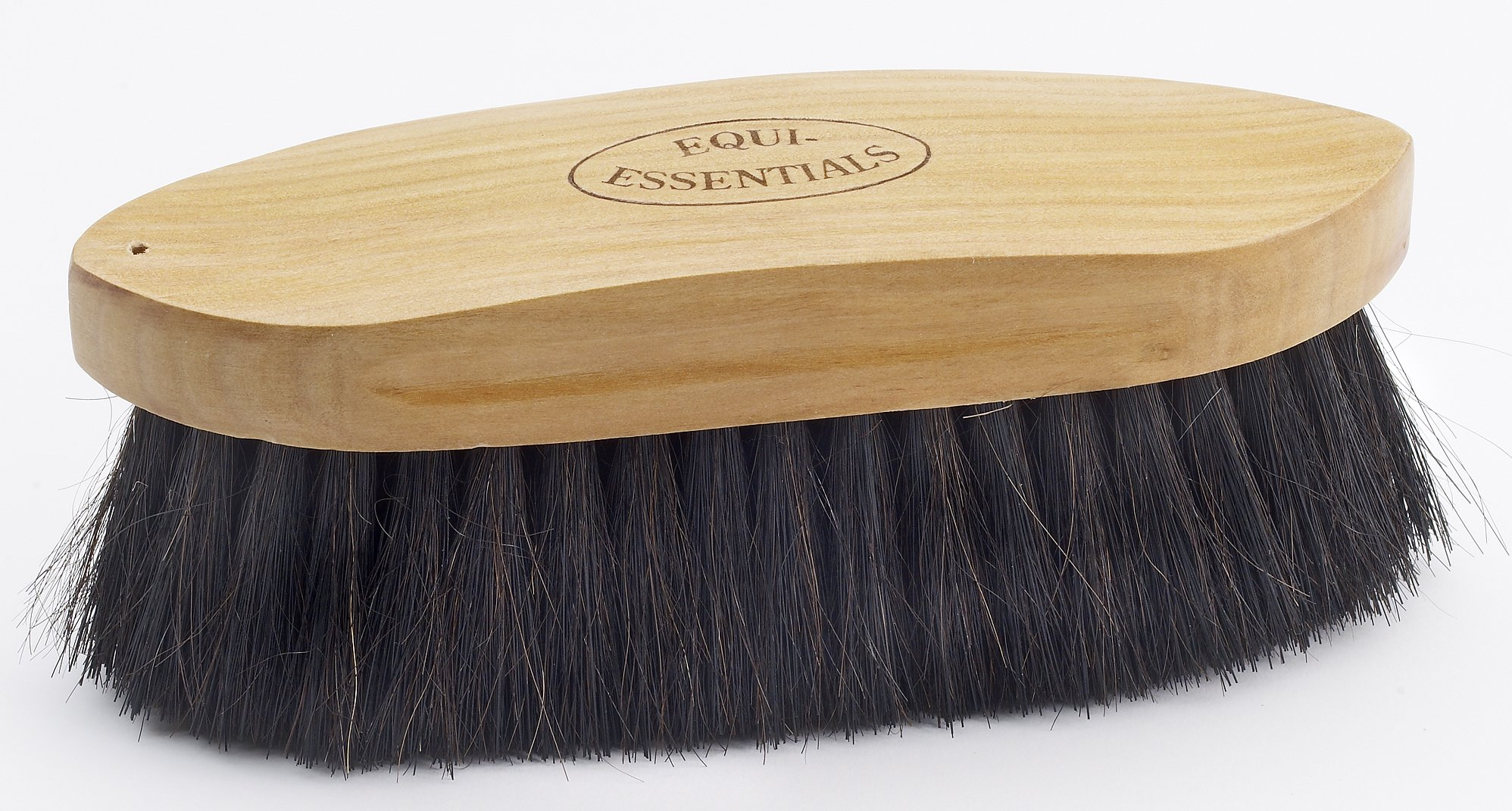 Equi-Essentials Wood Backed Horsehair Dandy Brush - Size:Large 8'' Color:Natural