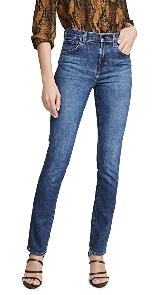 great varieties new high street price Amazon.com: J Brand Women's Ruby High Rise Cigarette Jeans ...