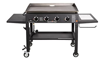 Blackstone 36 inch Outdoor Flat Top Gas Grill Griddle Station - 4-burner - Propane Fueled - Restaurant Grade - Professional Quality - With NEW ...