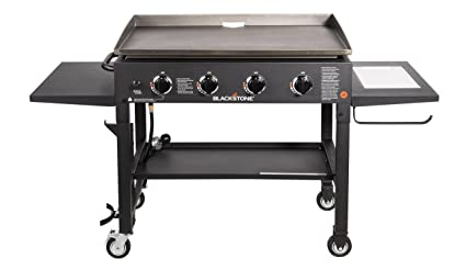 afe9aed105f Blackstone 36 inch Outdoor Flat Top Gas Grill Griddle Station - 4-burner -  Propane