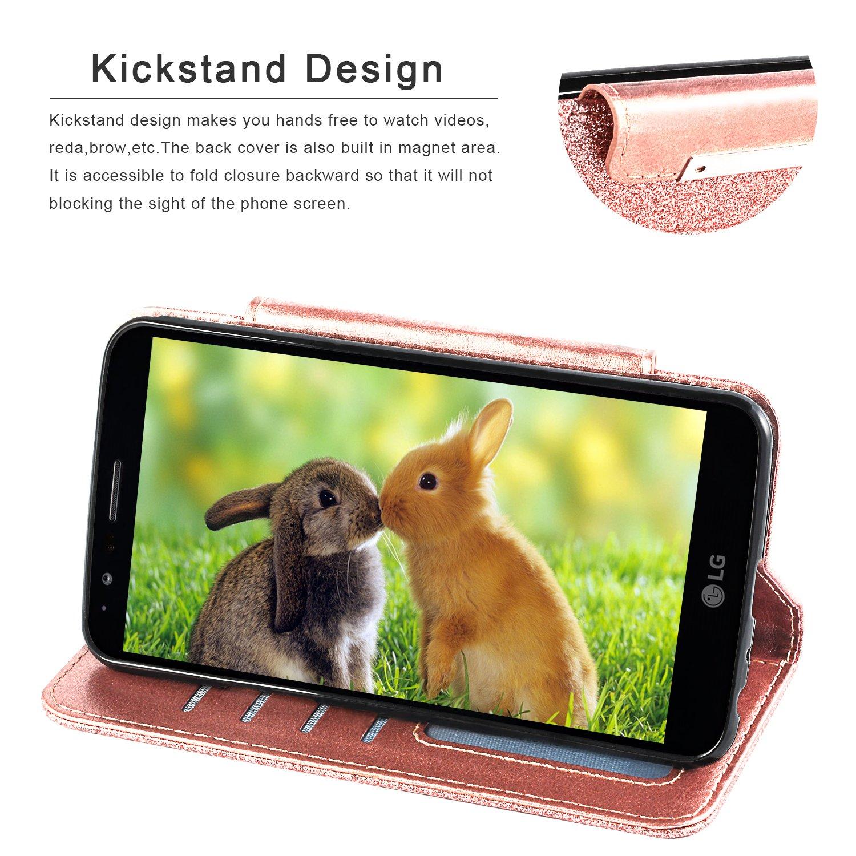 Amazon.com: Funda para LG Stylo 3, con protector de pantalla ...
