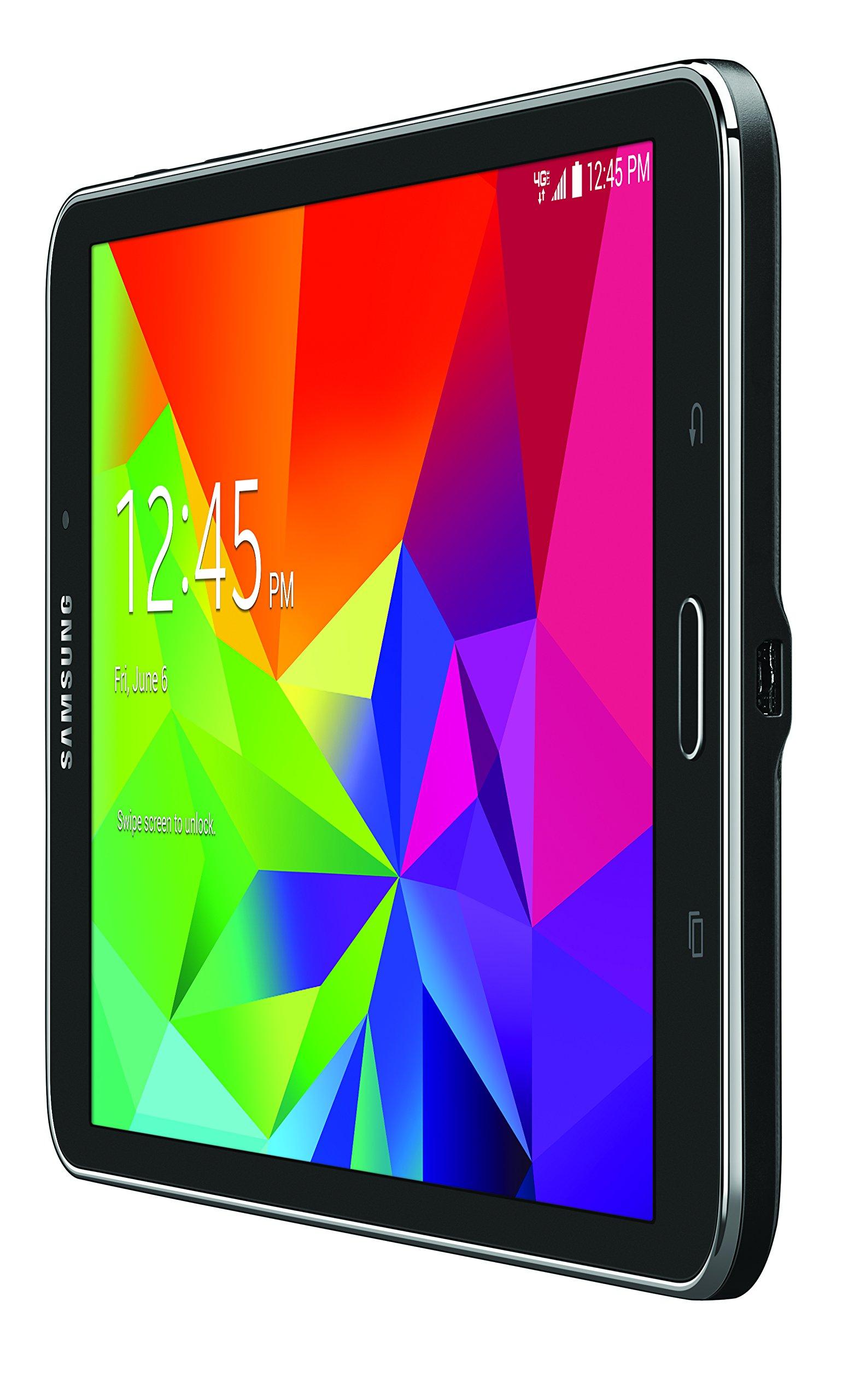 Samsung Galaxy Tab 4 4G LTE Tablet, Black 8-Inch 16GB