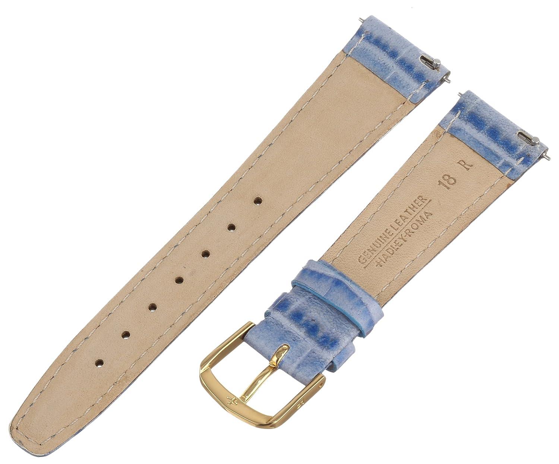 Hadley Roma Women's Alligator Grain Leather Watch Strap