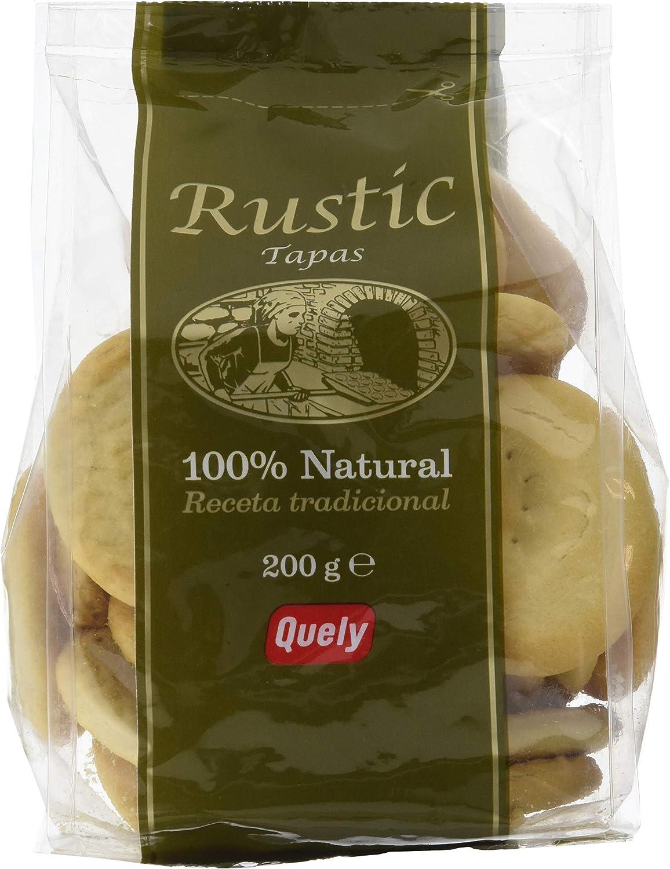 Quely Tapas Rustic 200 g Pack de 10: Amazon.es: Alimentación y bebidas