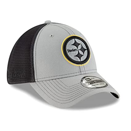 Image Unavailable. Image not available for. Color  New Era Pittsburgh  Steelers NFL 39THIRTY 2T Sided Flex Fit Meshback Hat ... fe9982a25