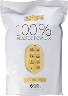 product image for Crazy Richard's Pure PB, 100% Natural Peanut Powder, Non-GMO, Gluten-Free, 2 Pound Resealable Pouch