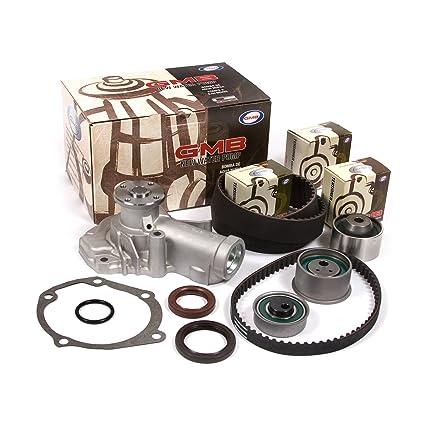 Amazon.com: 2003 Mitsubishi 2.4 SOHC 16V 4G64 Timing Belt Kit GMB Water Pump: Automotive