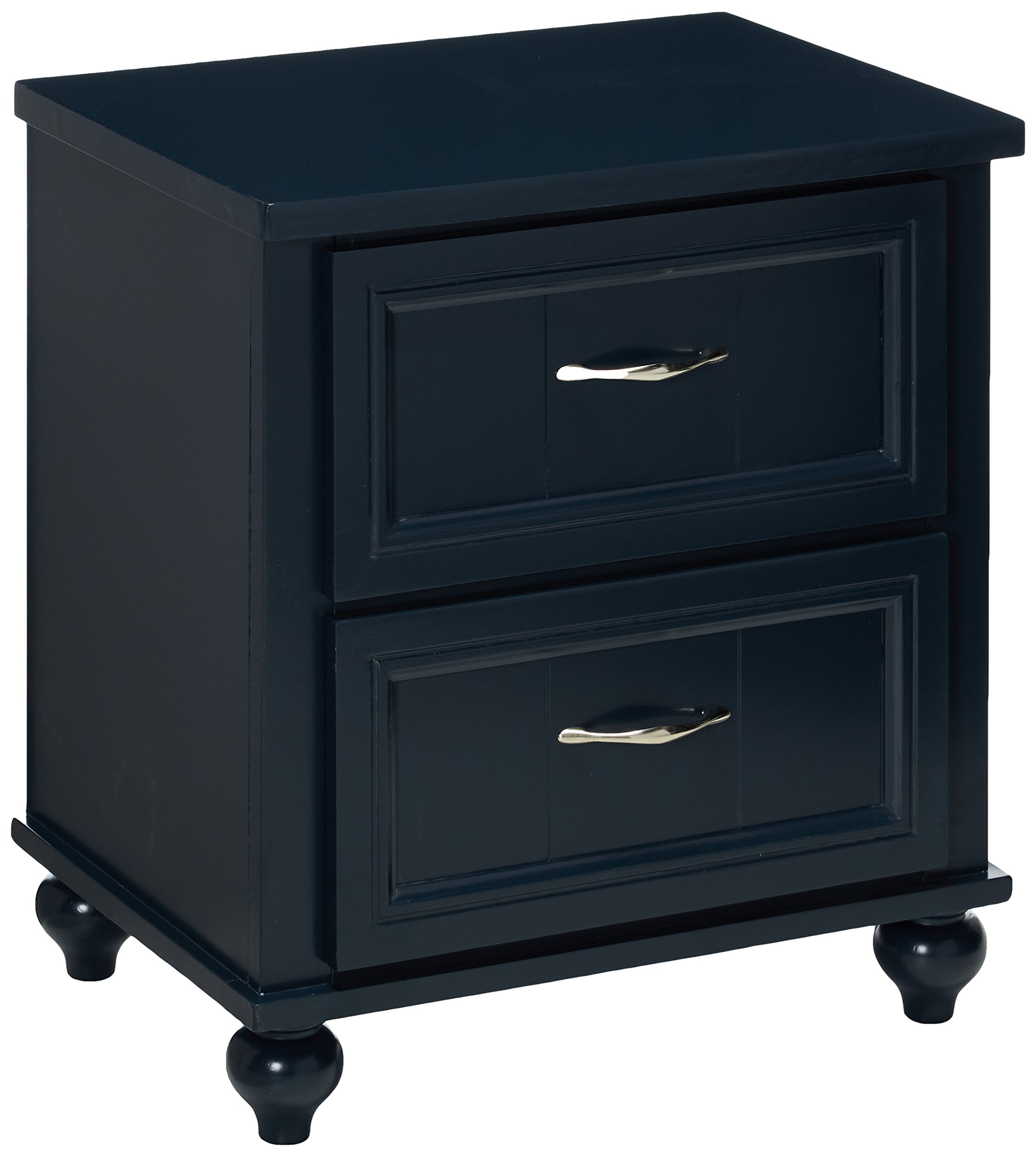 24/7 Shop at Home 247SHOPATHOME IDF-7322BL-N Childrens-nightstands, Blue by 24/7 Shop at Home