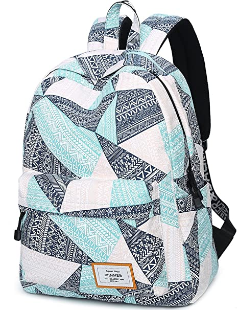 b664dc16bb69 Amazon.com  Water Resistant School Backpack for Teens