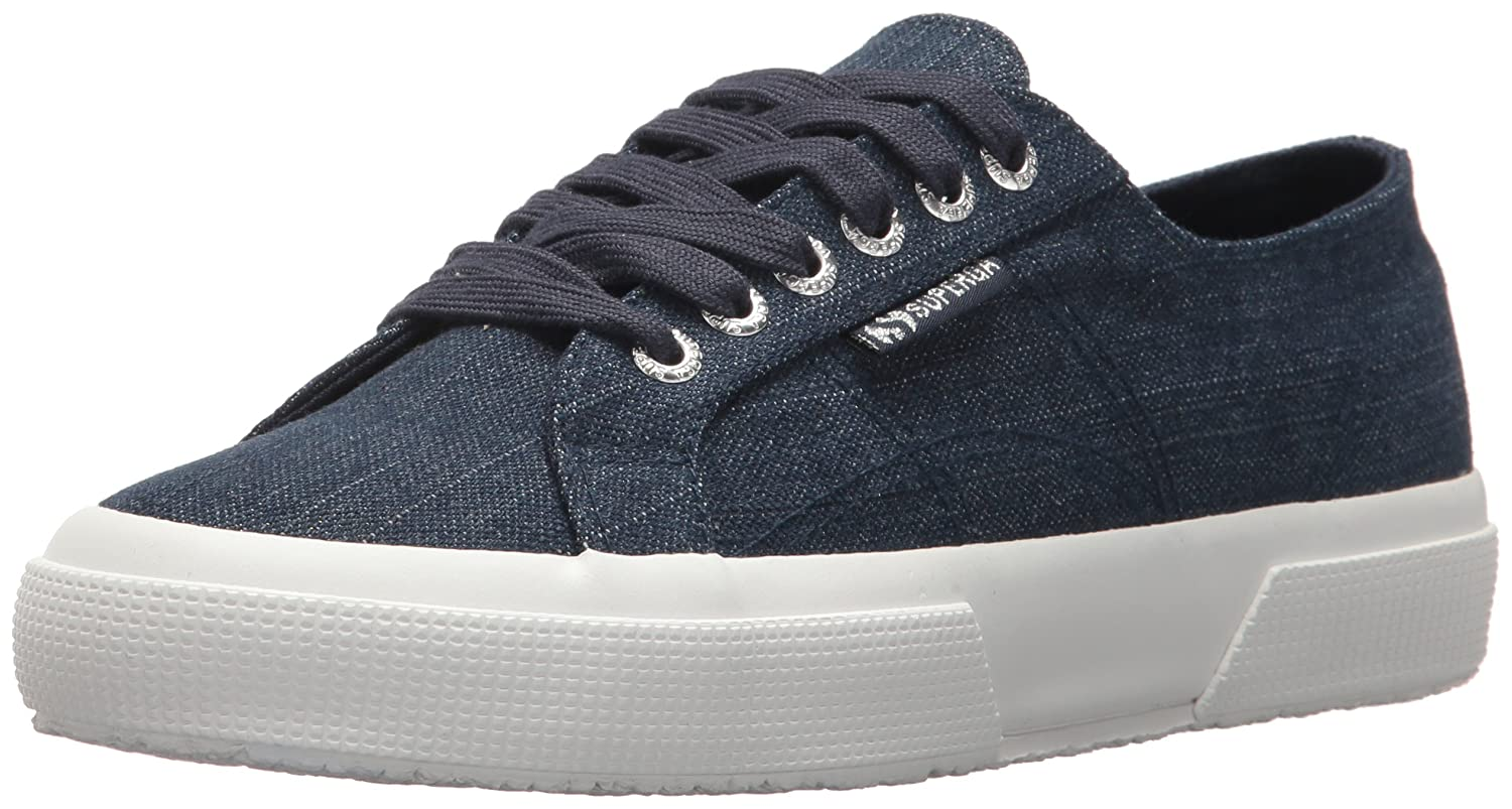 Superga Women's 2750 Denimshinyw Sneaker B075ZYHCLL 37 M EU (6.5 US)|Denim