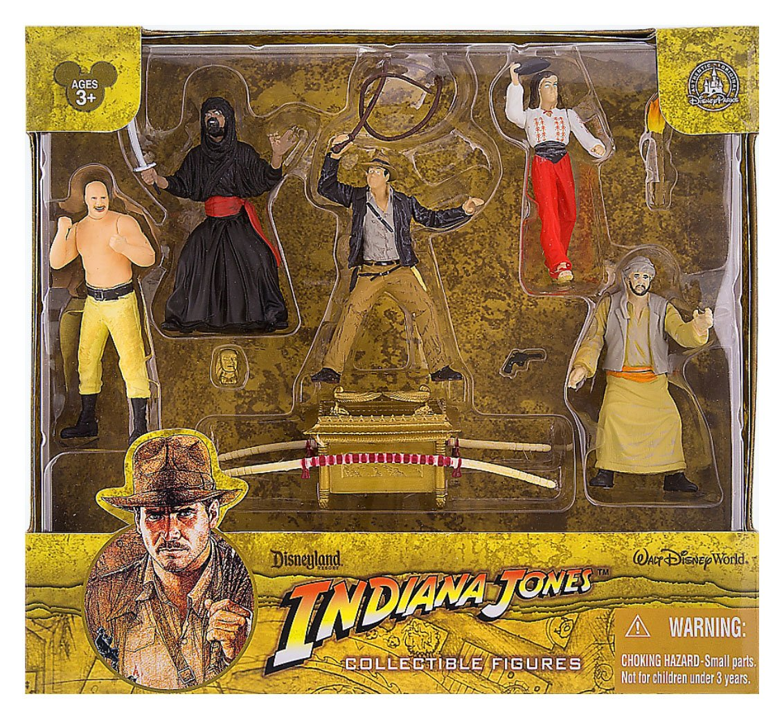Indiana Jones Raiders of the Lost Ark Figure Set Playset Walt Disney World Exclusive WDWDisney SG/_B004DAHFLA/_US