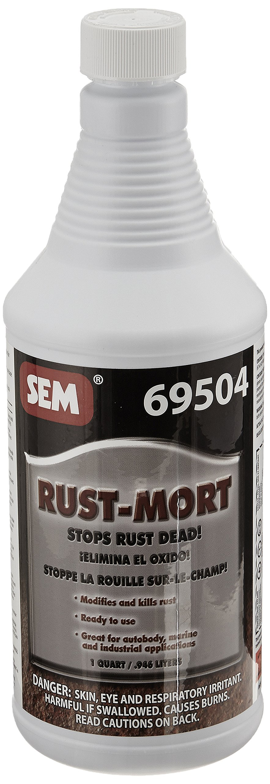 SEM 69504 Rust Mort - 1 Quart