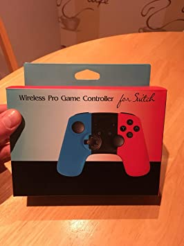 Jevogh Switch Controlador Inalámbrico, GR71 Pro Game Controller para Nintendo Switch, Bluetooth Gamepad Remote Joypad con Dual Shock y Gyro Axis: Amazon.es: Electrónica