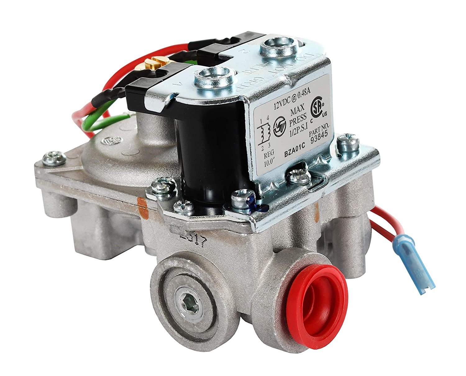 Atwood 93844 Water Heater Gas Valve Automotive Troubleshooting Dual Solenoid Circuit Valves More