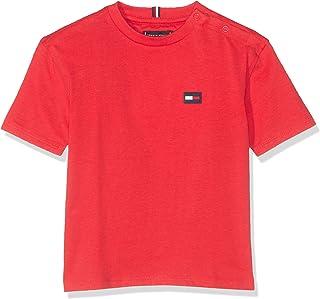 Tommy Hilfiger Essential Boxy Flag S/S, T-Shirt Bimbo
