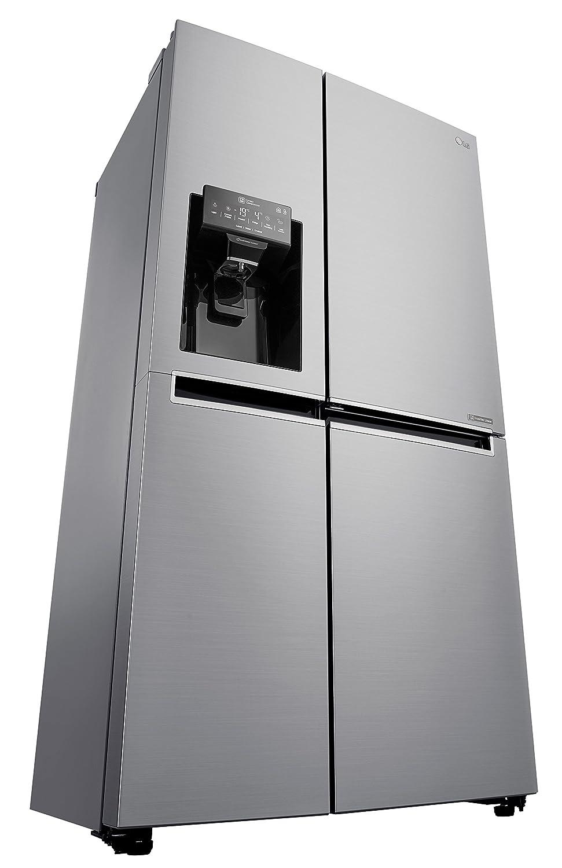 LG Electronics Deutschland 179 cm Classe énergétique A+ Réfrigérateur 394l//Congélateur 197 l//Affichage numérique avec réglage de la température//Froid ventilé//Inox LG Electronics GSJ 361 DIDV Réfrigérateur//Congélateur américain//A+ 429 kWh//an