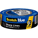 ScotchBlue Sharp Lines Multi-Surface Painter's Tape, 1.41 inches x 60 yards, 2093, 1 Roll