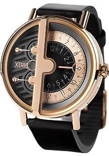Xeric Mens Quartz Watch(Model: SRQ-3018-BLK)