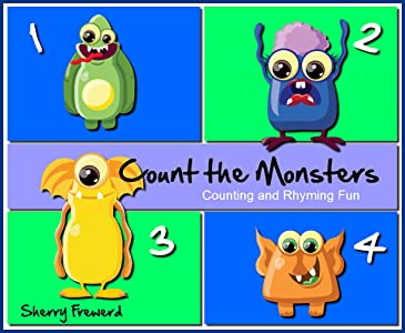 Count the Monsters: Preschool Counting and Rhyming Fun