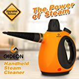 Gideon Handheld Pressurized Portable Steam Cleaner and Sanitizer / Powerful Multi-purpose Steamer, Removes Grease, Dirt, Mold, Stains, etc. and Disinfects / Removes Wrinkles from Garments [UPGRADED]