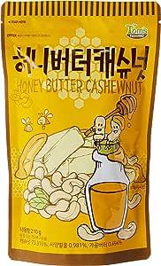 Tom's Farm Honey Butter Cashewnut,  210 g