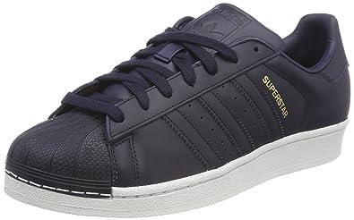 new arrival 66a9a e0fb7 adidas Men s Superstar Fitness Shoes, Blue (Legink Grethr Tracar Legend Ink  F17