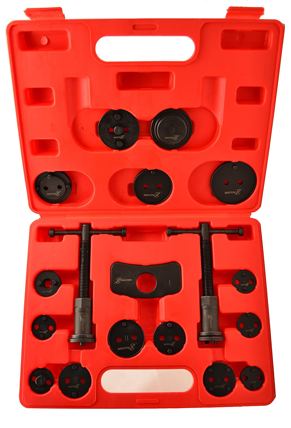 Amazon Motivx Tools 18 Piece Brake Caliper Wind Back Tool Set