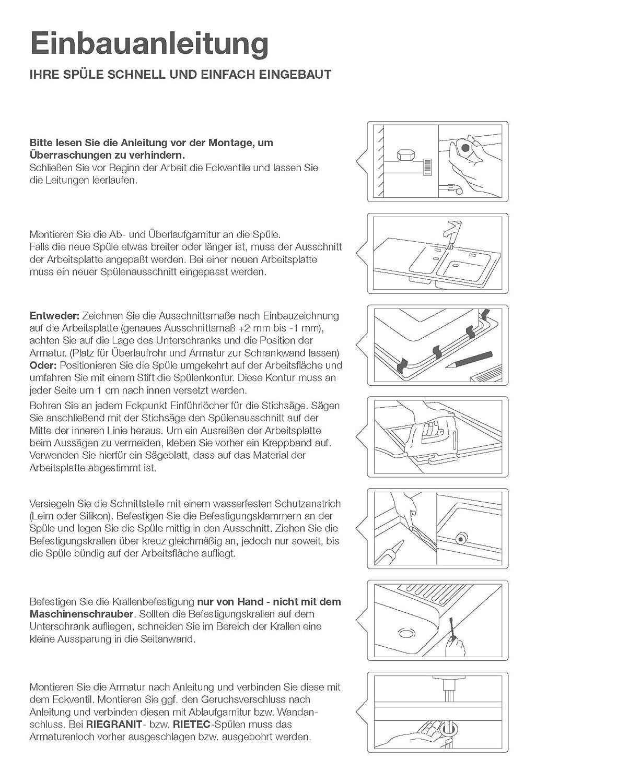 Ziemlich Kleine Küchenspüle Schrank Bilder - Küchen Ideen Modern ...