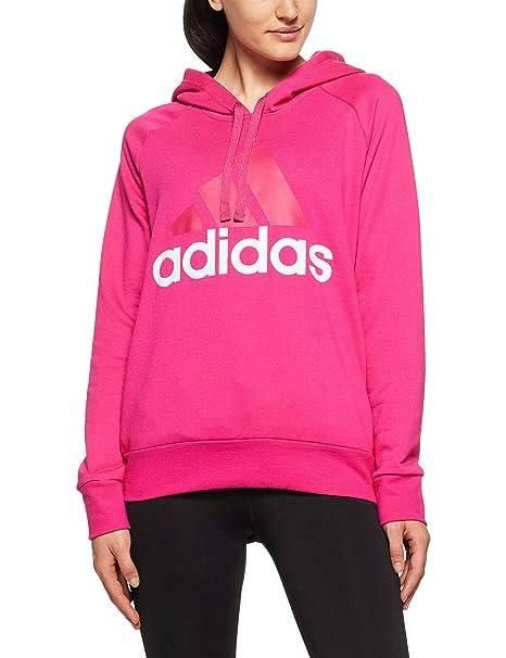 adidas ESS Lin Oh HD Camiseta, Mujer, Magenta Real, 2XS