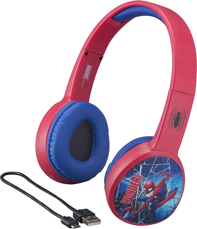 Ekids Marvel Spiderman Wireless Bluetooth Headphones Amazon Co Uk Electronics