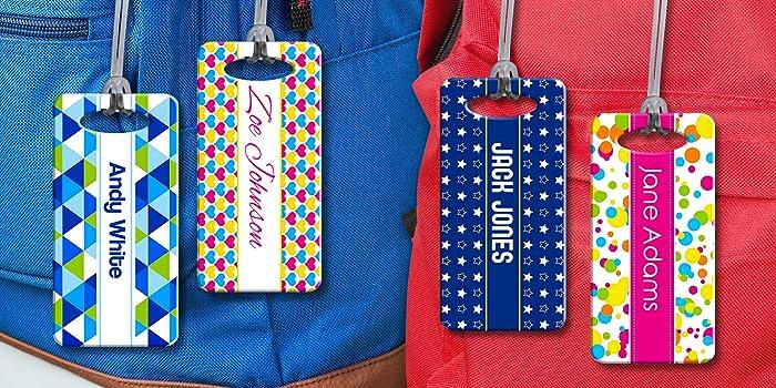 back to school. school bag Personalised Bag Tag Keyring Nursery bag handbag