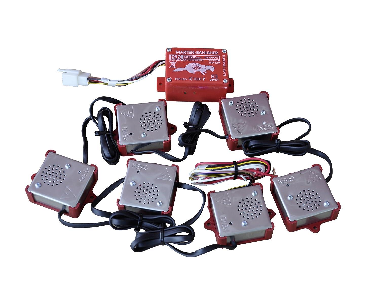 K&K Marderschutz Marderabwehr M5500 SMD Ultraschallgerät 21-23 kHz 100 dB(A)