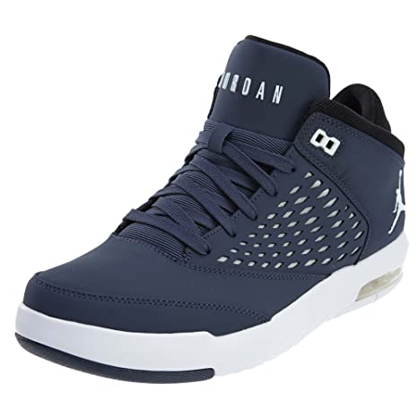official photos be4b5 24ee3 Nike Jordan Flight Origin 4, Scarpe da Basket Uomo, Multicolore (Thunder  Blue