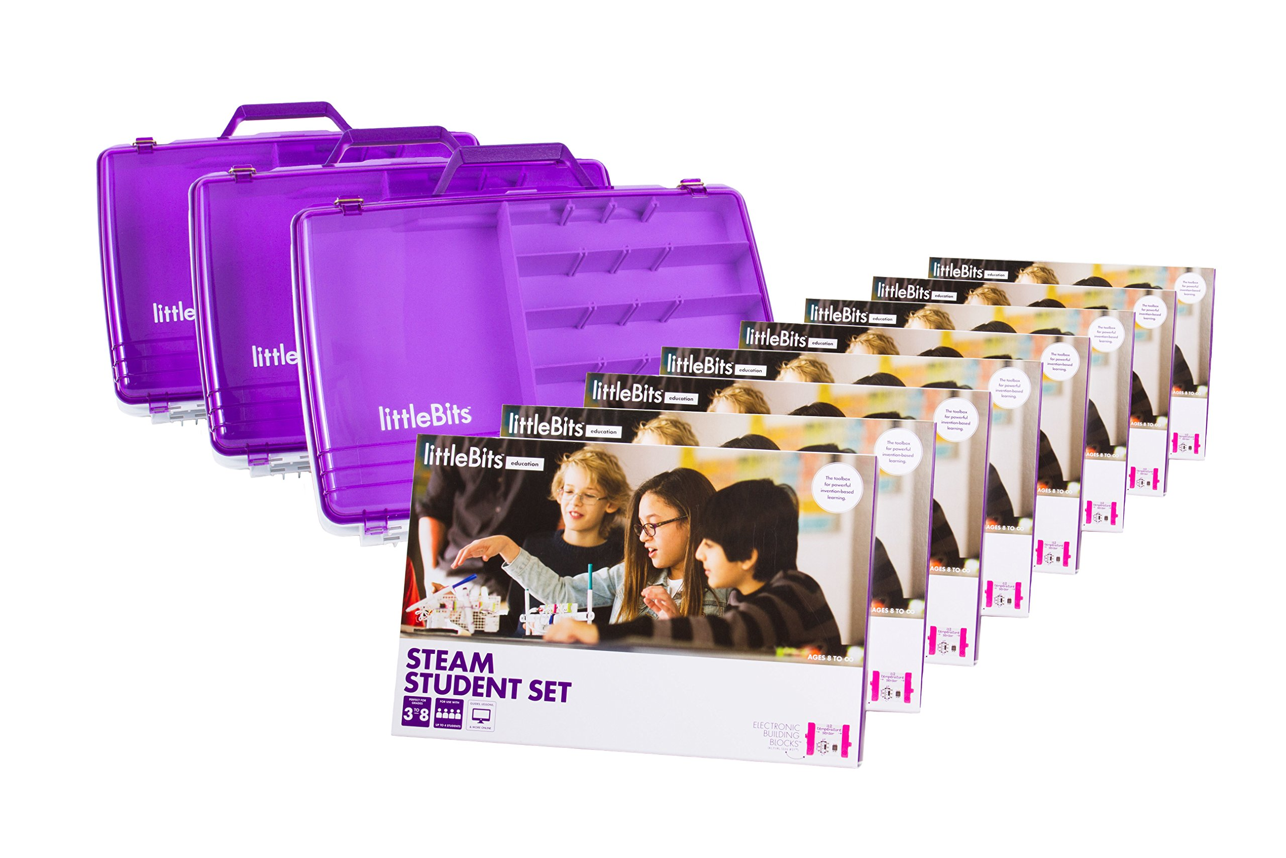 littleBits STEAM Education Class Pack for 24 Students