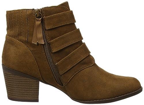 Angela Buckle, Chelsea Boots Femme, Marron (Brown 500), 37 EUDorothy Perkins