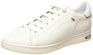 7073c4a4ad8e1 Amazon.com | Geox Jaysen a, Women's Low-Top Sneakers, Blanc (C1000 ...