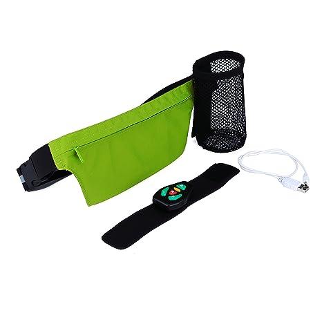 f7e1228f4381 Amazon.com : BIKEMAN LED Fanny Pack Smart Waist Bag for Running ...