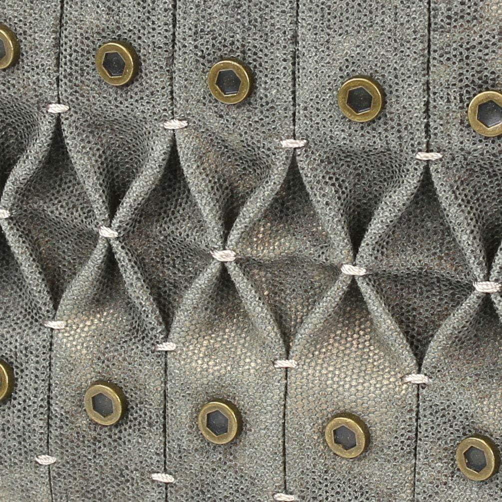 Feather Blue Chala Origami Xbody Crossbody Bag w//Metal Keychain