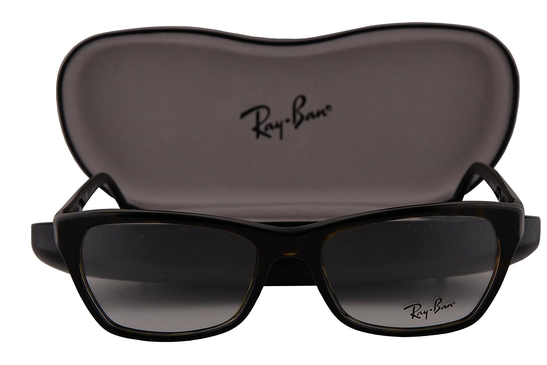 acdb29513a Ray Ban RX5298 Eyeglasses 53-17-135 Dark Havana 2012 RB5298  Amazon.de   Bekleidung