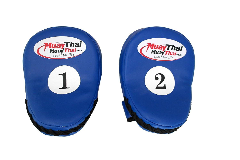 ペアの曲線フォーカスパッド耐熱手袋、パンチバッグボクシンググローブキックタイCurved MMAトレーニンググローブ空手ムエタイキックターゲット B01J5KE1RS