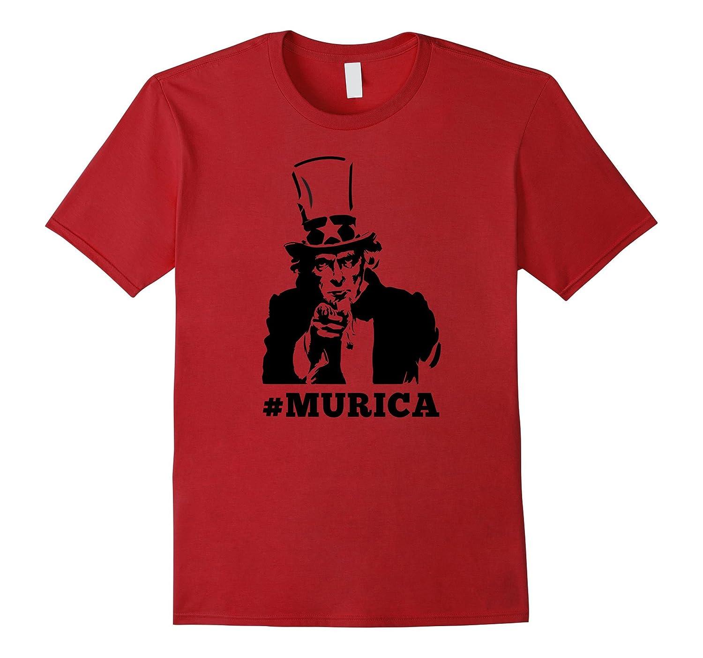 4th of July Shirt - Murica Uncle Sam Shirt-TH