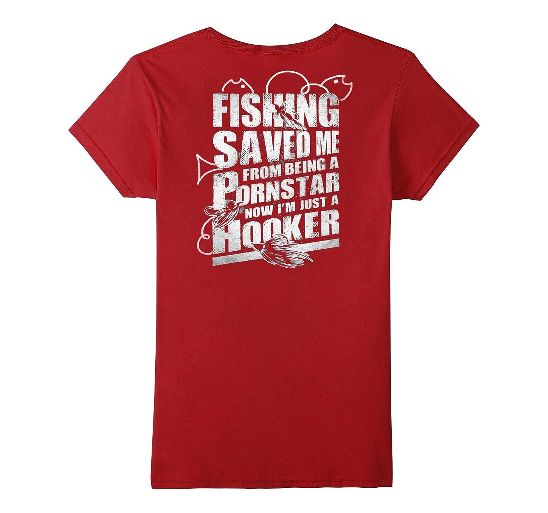Fishing – I'm Just A Hooker Tshirt