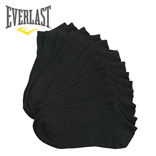 e5e6f981817 Everlast Womens No Show Athletic Ankle Socks (Pack of 7