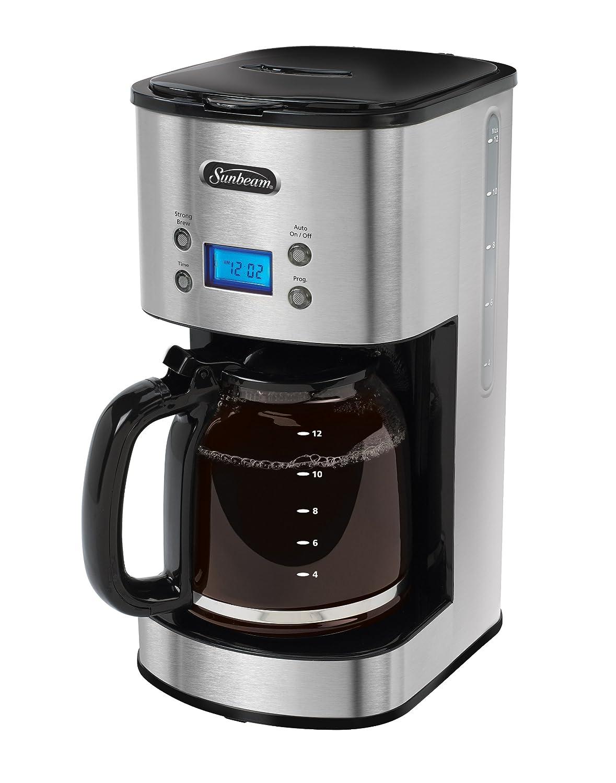 Sunbeam Programmable Coffeemaker Stainless Steel BVSBCM0001-033