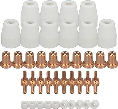 20 Count Plasma Tips Nozzle for PT-31 LG-40 CUT40 CUT50 Ordinary