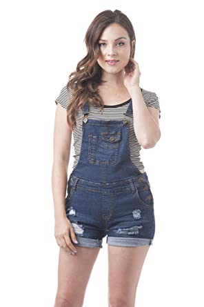 Amazon.com: Denim Jean Overall Shorts: Clothing