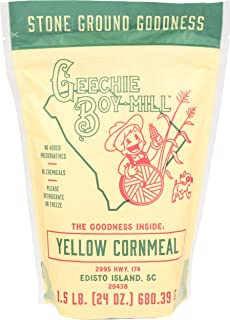 product image for Geechie Boy Mill Yellow Cornmeal, 24 Ounce Bag